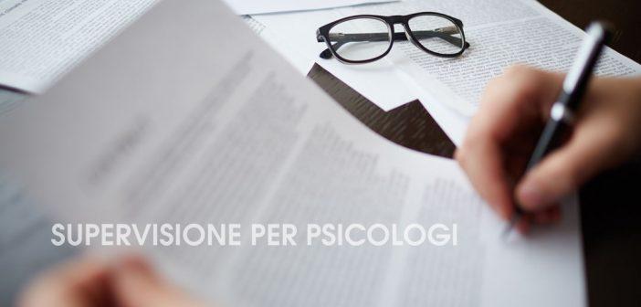Supervisione Psicologi Padova