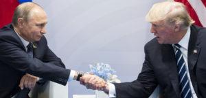 Test linguaggio del corpo. Putin e Trump