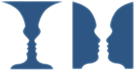 Enigmi della percezione. La figura di Rubin