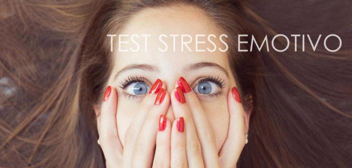Test dello stress emotivo ed emozionale